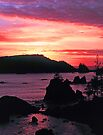 SUNSET, CALIFORNIA by Chuck Wickham