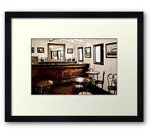 Ticonderoga Saloon Framed Print