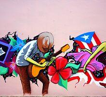 Puerto Rico's Street Art by Haydee  Yordan
