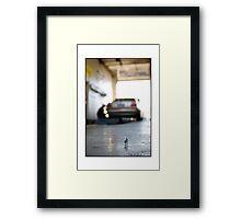 Auto Technician Framed Print