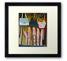 Dislocated Knee Framed Print