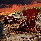 Gayundah Shipwreck by Helen Martikainen