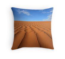 Sand Dune Ripples, Simpson Desert, Australia Throw Pillow