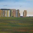 The stonehenge by Monika Howarth