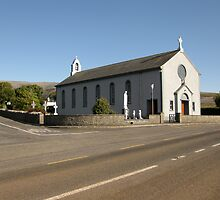 New Quay church by John Quinn