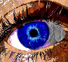 Blue Eye by colleen e scott