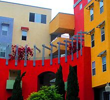 Multi Colored Complex San Diego by GolemAura