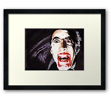 The Horror of  Dracula Framed Print