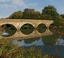 Old Bridge, Iford by RedHillDigital