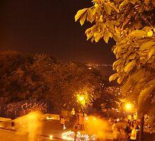 Odessa - In The Night - Commemorating MJ 3 by Nina Zhiltsova