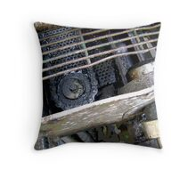 working parts Throw Pillow