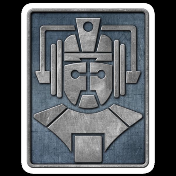 Cyberman Logo by Iain Maynard