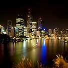 Kangaroo Point, Brisbane by Sue Wilson (Kane)