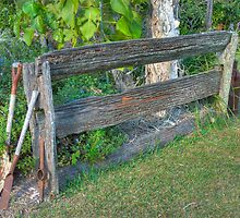 Post and Rail Fence, Hervey Bay, Queensland  (HDR) by Adrian Paul