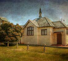 St John's Church, (1924) Capel, Western Australia by Elaine Teague