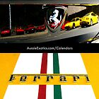 2012 Ferrari Calendar by Aussie Exotics