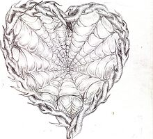 Caught in the Web...Heartbreak by Leeandmadison