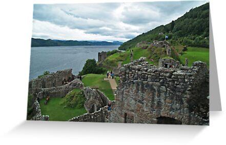 Urqhuart Castle 3 by WatscapePhoto