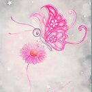 The Pink Butterfly by AngelArtiste
