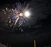 friday night fireworks, coney island by rebeccaolsen