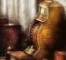 Brass Cash Register by Mike  Savad