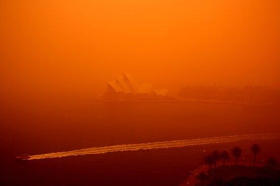 Red Sails - SYDNEY. AUSTRALIA by Bryan Freeman