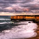 Sunrise on the Great Ocean Road in HDR by Elana Bailey