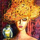 Lady Hawk by Belinda &quot;BillyLee&quot; NYE (Printmaker)