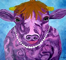 Pearl the Purple Cow by Diane M. Lowe