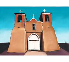 Ranchos de Taos  Photographic Print