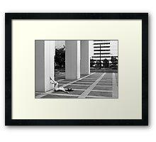 dominion plaza Framed Print