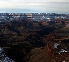 Grand Canyon from Watchtower by Terence Russell