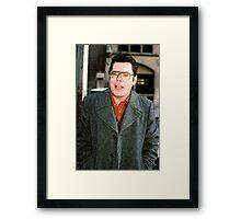 Horror King Stephen Framed Print