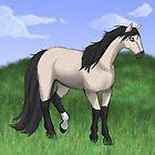 Buckskin Horse by Palomino1234