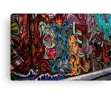 Hosier lane,Melbourne Canvas Print