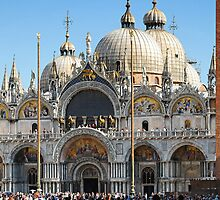 Basilica San Marco and Campanile, Venice by bevanimage