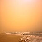 The Dust Storm Curl Curl  by sparrowdk