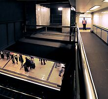 London Underground by Simon Yeomans
