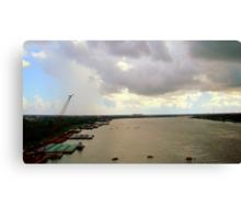 Mississippi River #2 Canvas Print