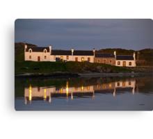 Islay: Port Ellen Enlightened Canvas Print