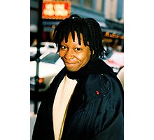 Whoopi On Broadway NYC Photographic Print