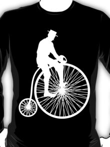 Vintage Bicycle Silhouette T-Shirt