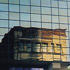 Old in New. Reflection. Tacoma, Washington by Igor Pozdnyakov