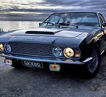 Aston Martin DBS from the Bond movie On Her Majesty's Secret Service by WPPhotography