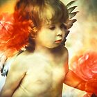 Little Angel with Rose by lightvision