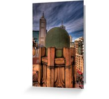 Manchester Unity Building 2 Greeting Card