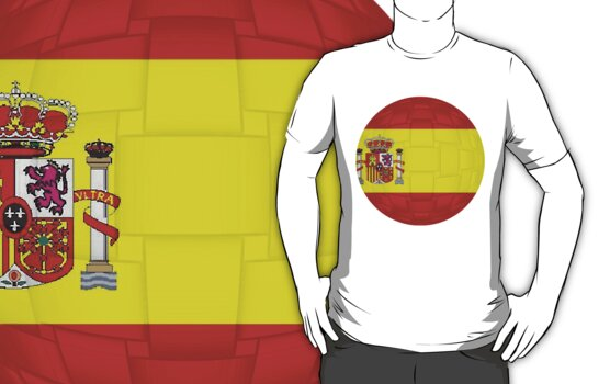 Spanish Flag by MadTogger