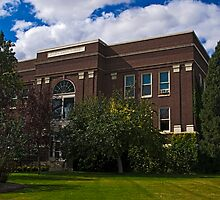 JUDITH BASIN COUNTY COURT HOUSE by Bryan D. Spellman