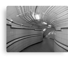 Urban Underground Metal Print