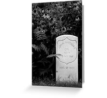 In Memoriam ~ Part Two Greeting Card